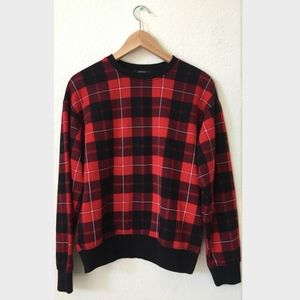 Plaid Sweatshirt